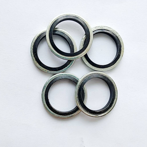 NBR Bonded Gasket/Metal+ Rubber Gasket/ Sealing Washer