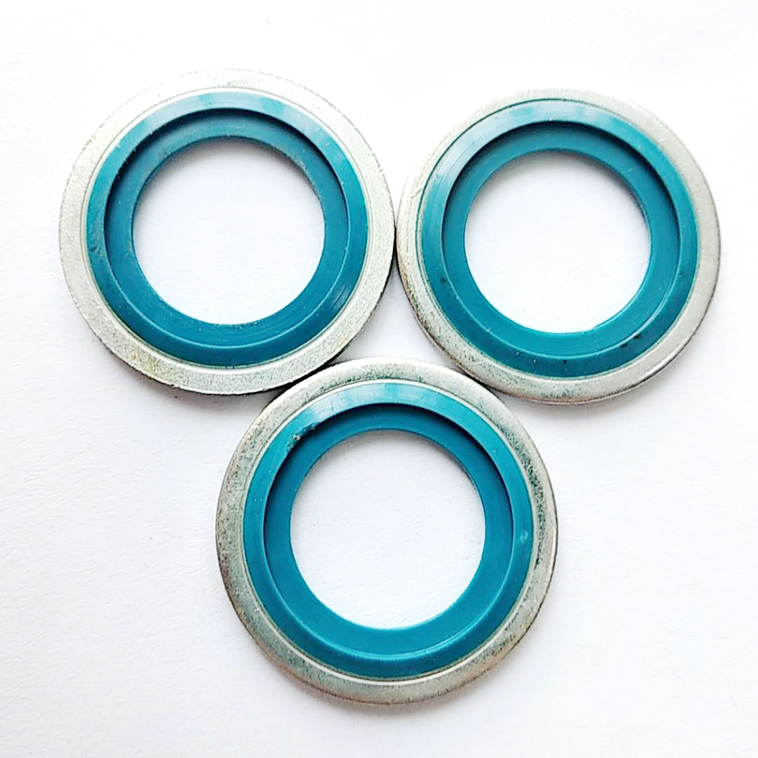 M6 Self-centering Bonded Gasket in Good Rubber for Auto Sealing