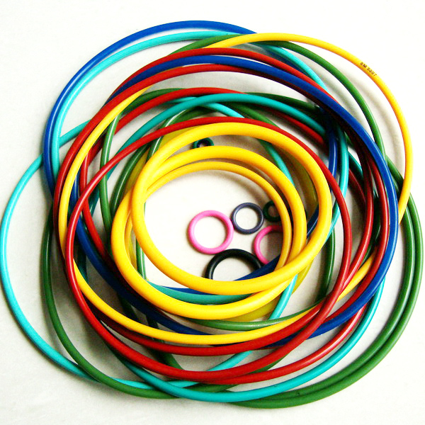Colorful Silicone/NBR/EPDM Rubber O-RING.