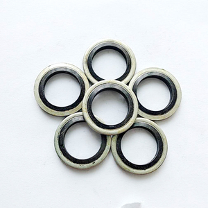 "1/4"" Rubber Seals Combination Washer, Bonded Washer"
