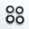 M12 Rubber metal compound washer self centering gasket